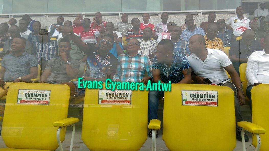 Asamoah Gyan in attendance as dream club Kotoko surge past Medeama in Kumasi