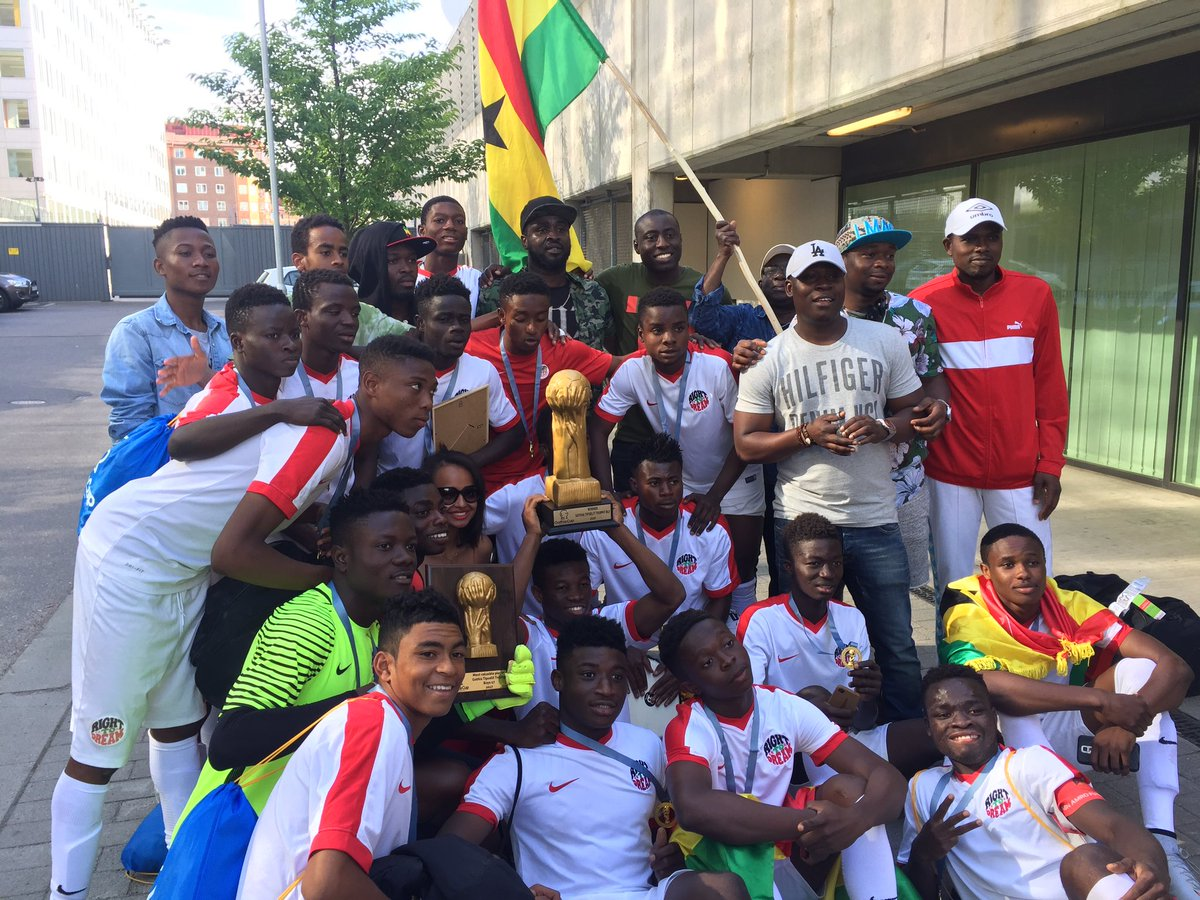 Ghana's Right to Dream Academy Boys and Girls win 2017 Gothia Cup