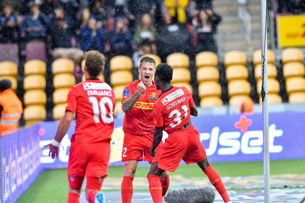 VIDEO: Watch Godsway Donyoh and Ernest Asante score for Nordsjaelland in Danish League