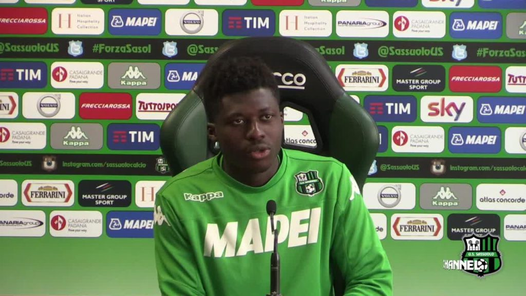 Sassuolo midfielder Alfred Duncan eyes Atalanta scalp after last week Torino FC stalemate