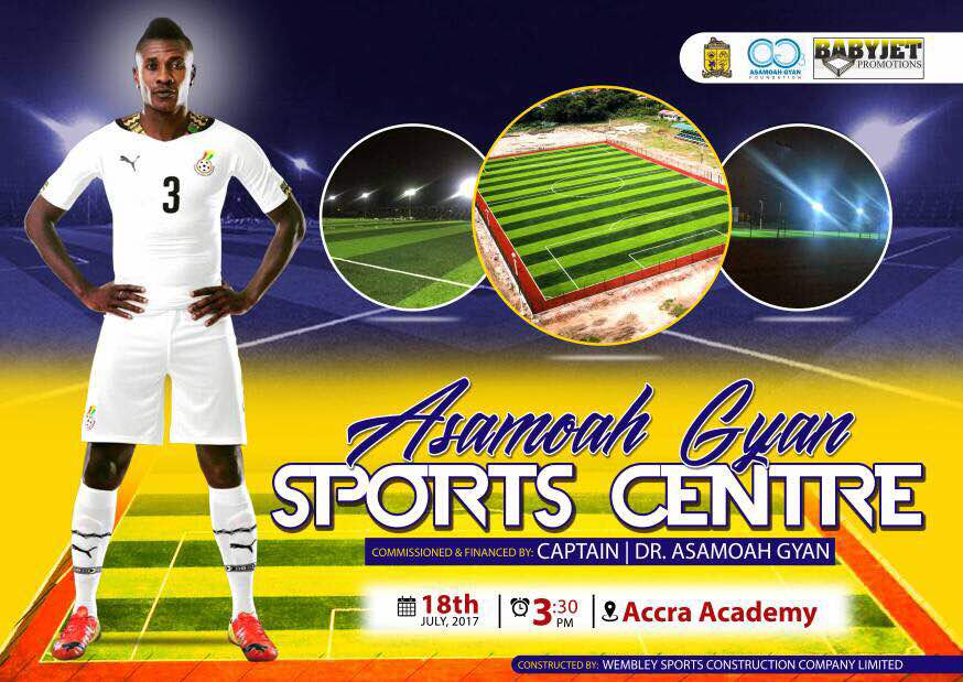 Ex-Chelsea great Didier Drogba commends Asamoah Gyan for Accra Aca Astro-Turf project