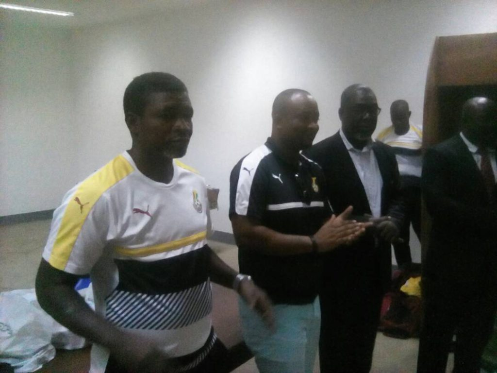 Deputy Sports Minister Pius Hadzide lauds brilliant Black Stars B performance against Togo