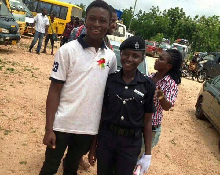 Ex-female U17 star Jane Ayiayem enters Ghana Police Service