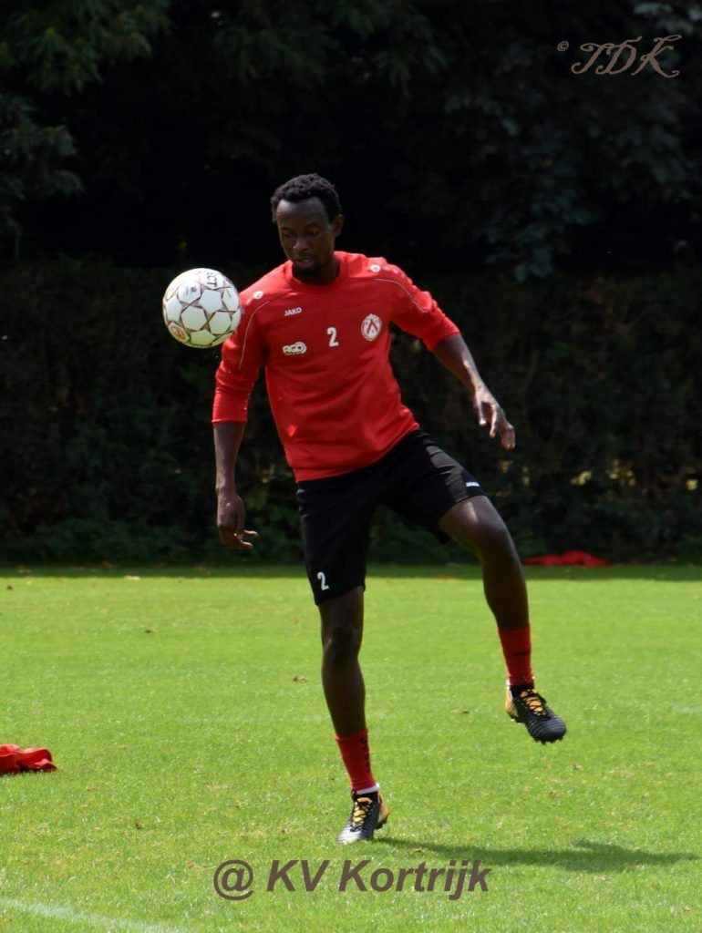 Ghanaian midfielder Bernard Yao Kumordzi charged up start of Belgian Super Lig