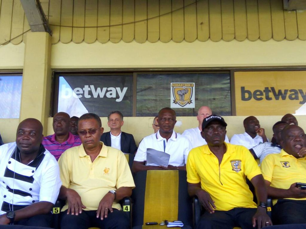 Ghana coach Kwasi Appiah watched AshGold's outstanding clash with WAFA in Obuasi