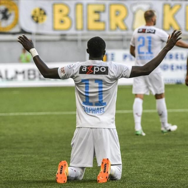 FC Zurich striker Raphael Dwamena bags brace on Swiss Super League debut