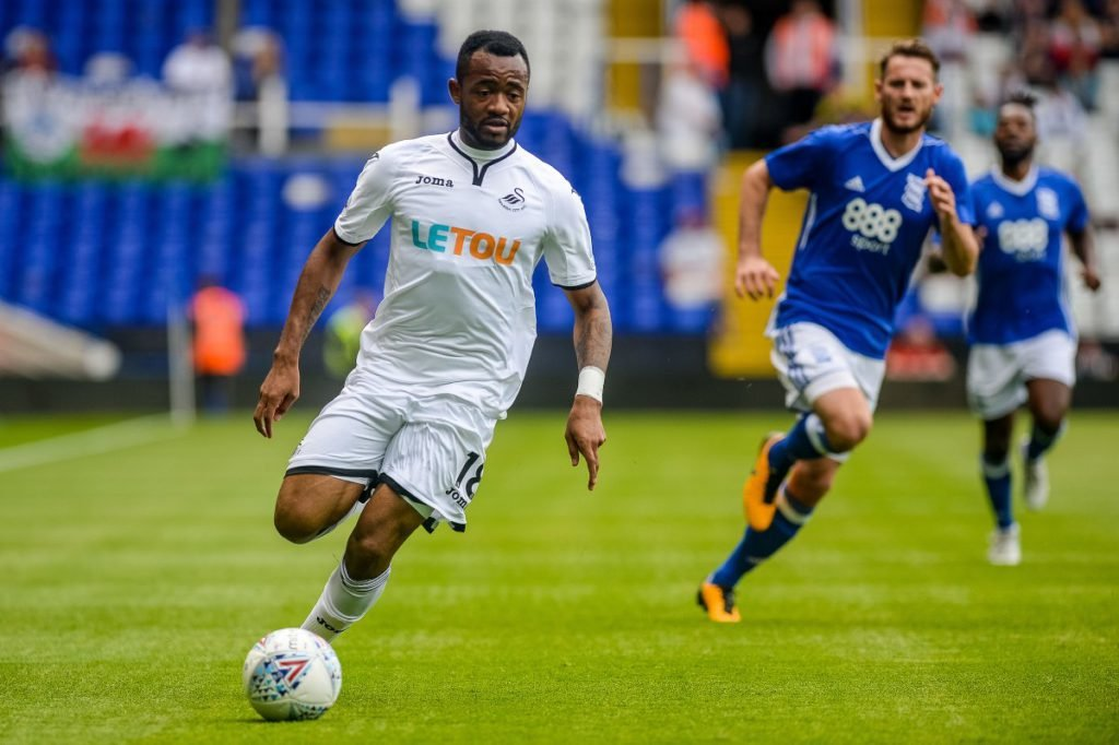 Jordan Ayew tops Swansea ratings in emphatic victory over MK Dons in Carabaro Cup