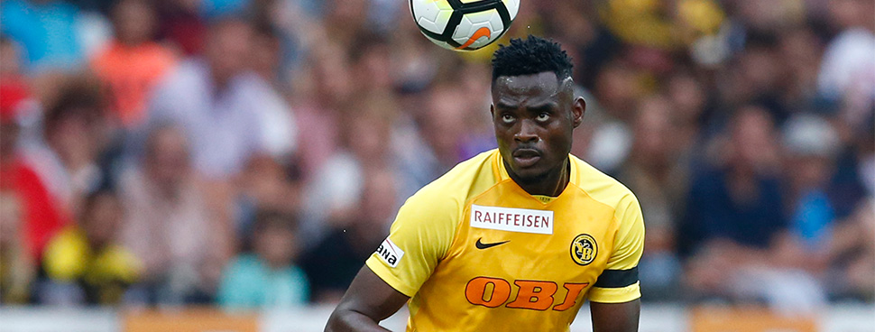 Ghanaian defender Kassim Nuhu continues fine form in Young Boys' 4-0 win over Grasshoppers