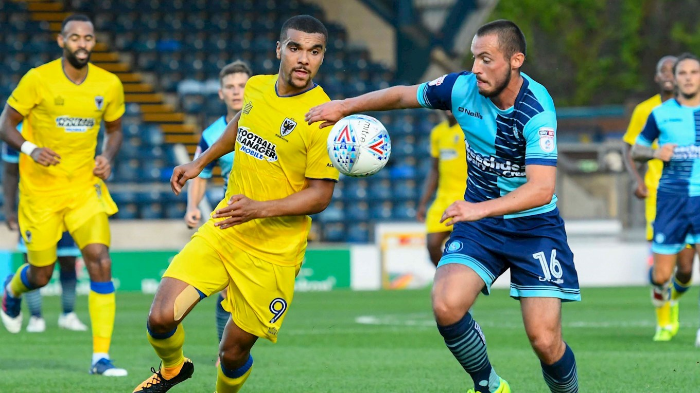 Ghana striker Kwesi Appiah returns to Dons squad in Wycombe defeat