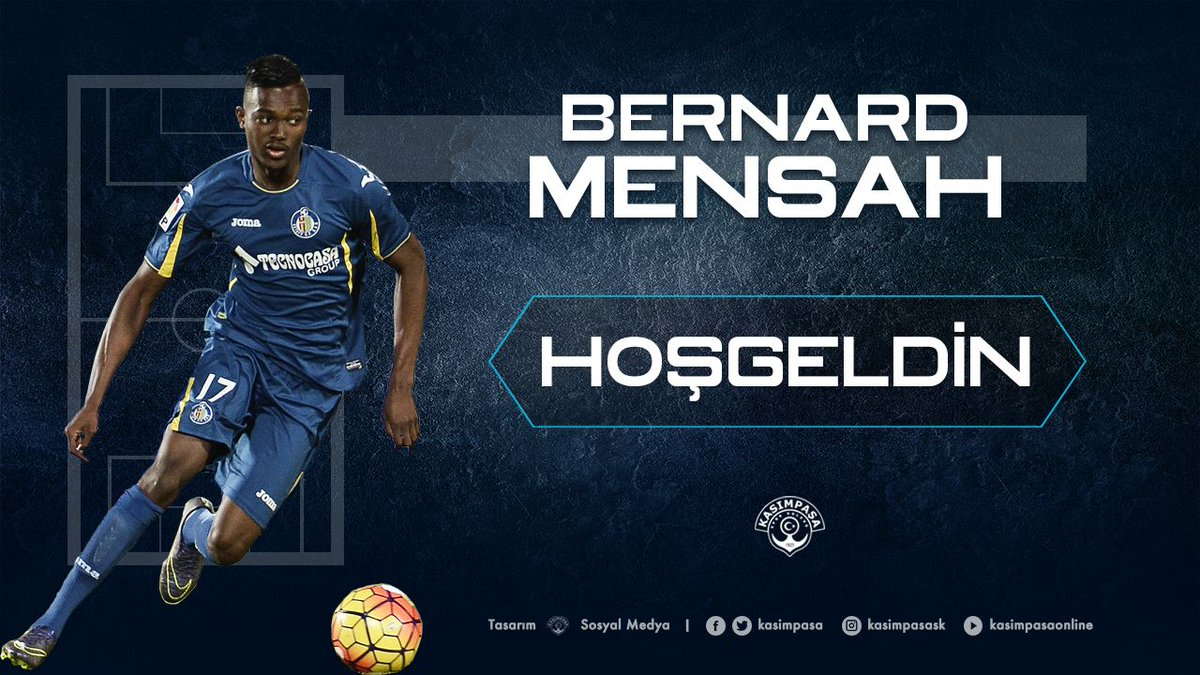 Bernard Mensah looking forward to Turkish challenge with optimism