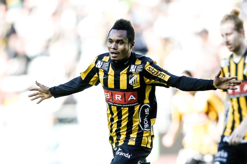 Video: Striker Nasiru Mohammed scores to secure draw for Hacken in Swedish top-flight