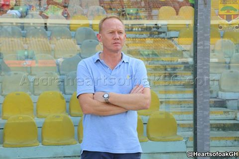 Hearts of Oak coach Frank Nuttal blasts players after G-8 final loss against Dreams FC