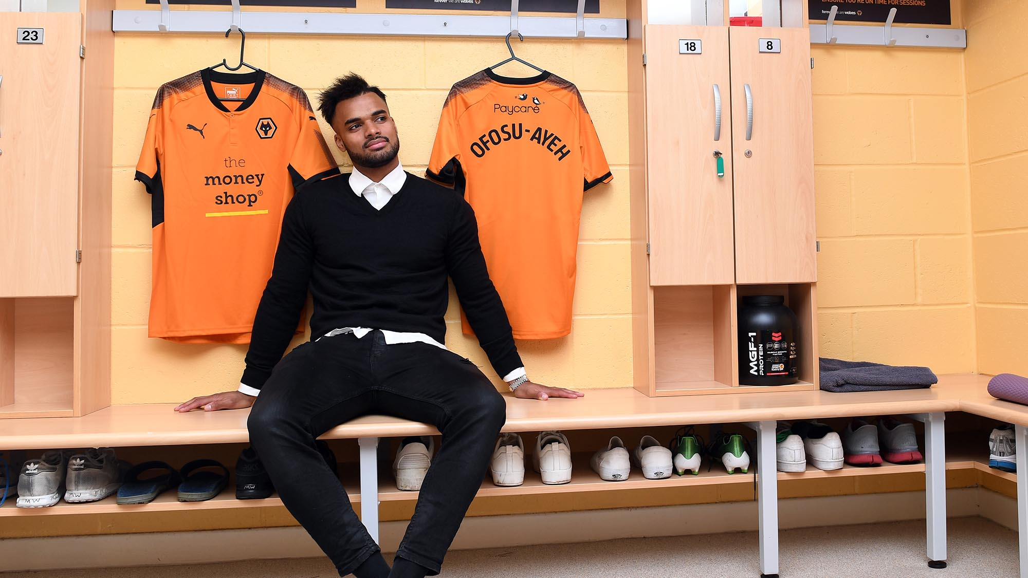 Wolves boss says crocked Ghana defender Phil Ofosu-Ayeh making progress