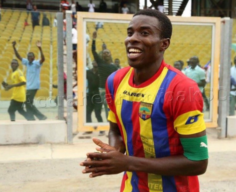 Former Hearts captain Mahatma Otoo hails Thomas Abbey as one of GPL best players