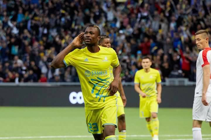 Patrick Twumasi strikes twice to give Astana 2-0 victory over Tobol in Kazakhstan