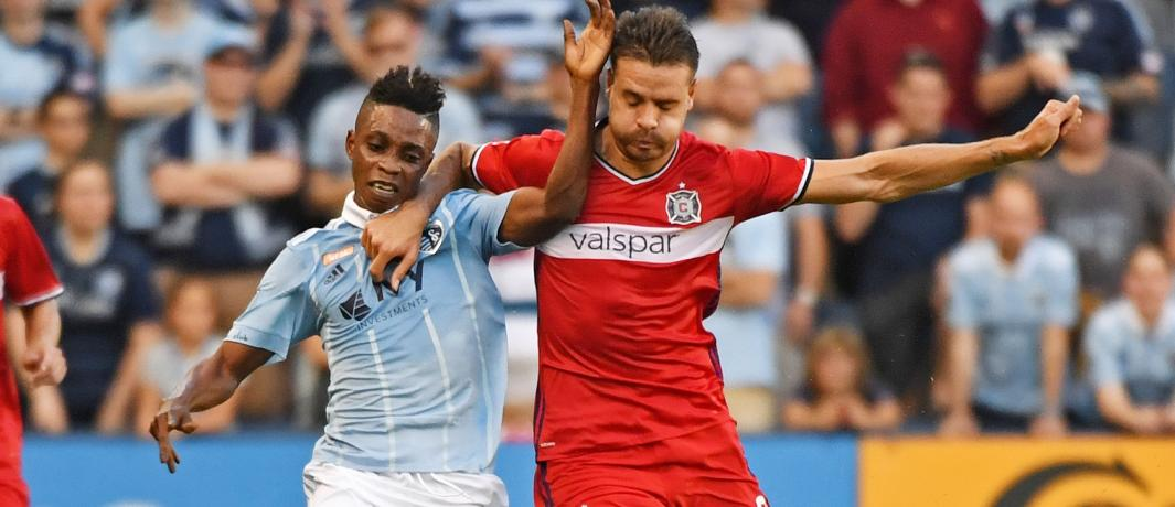 Video: Watch Latif Blessing and David Accam score in thrilling MLS match between Sporting KC and Chicago Fire