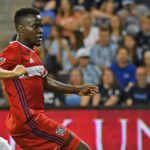 David Accam strikes 12th goal of the season but Chicago Fire fall 3-2 at Sporting KC