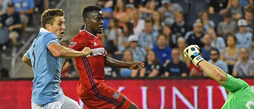 VIDEO: David Accam declares Chicago Fire will qualify for MLS playoffs despite setback