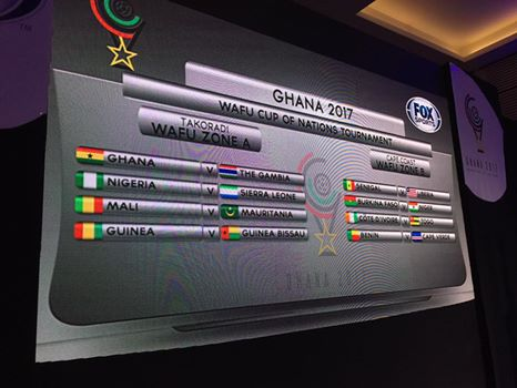 Ghana to play Gambia in 2017 Fox Sports WAFU Nations Cup opener