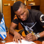 PHOTOS: Mubarak Wakaso signs three year deal with Deportivo Alaves