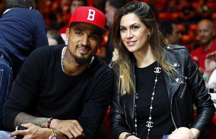Kevin-Prince Boateng goes out for dinner with Juventus star Claudio Marchisio