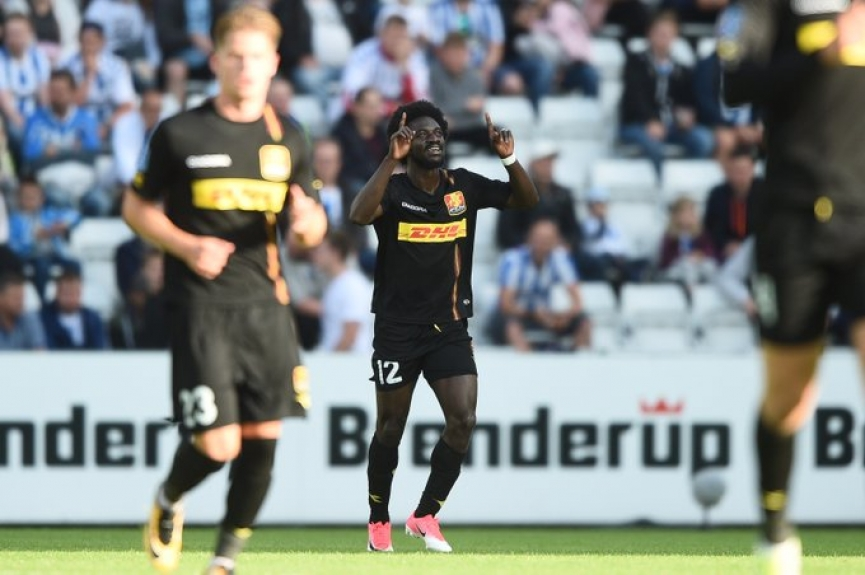 Ernest Asante scores and misses penalty as Nordsjaelland win in Danish top flight