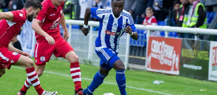 VIDEO: Watch former Inter Allies winger Evans Mensah's fabulous curler for HJK Helsinki