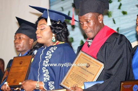 Video: Interview with Ghana striker Asamoah Gyan on the conferment of honorary doctorate