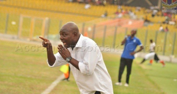 Veteran coach J.E. Sarpong advises Henry Wellington to quit Hearts coaching job