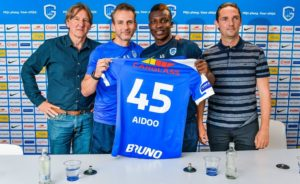 Defender Joseph Aidoo aims to win titles with new side KRC Genk