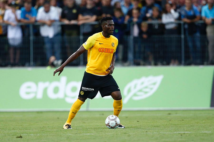 Ghanaian international Kassim Adams shines in Young Boys' 5-1 big win over Benfica