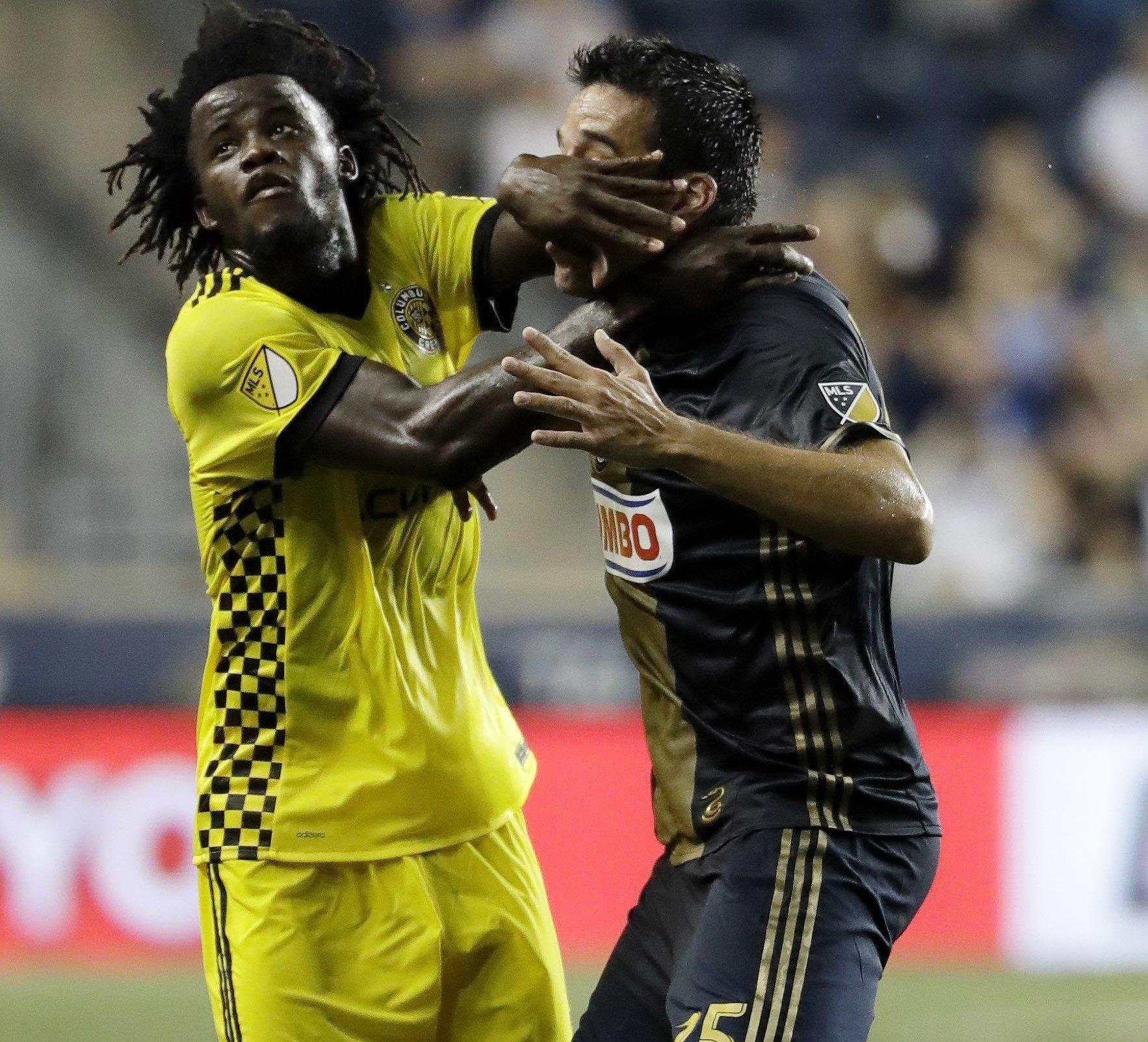 Columbus Crew lose appeal to overturn Lalas Abubakar's red card