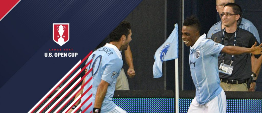 VIDEO: Watch Latif Blessing's brace in Sporting KC 3-0 win over Dallas in US Open Gold Cup