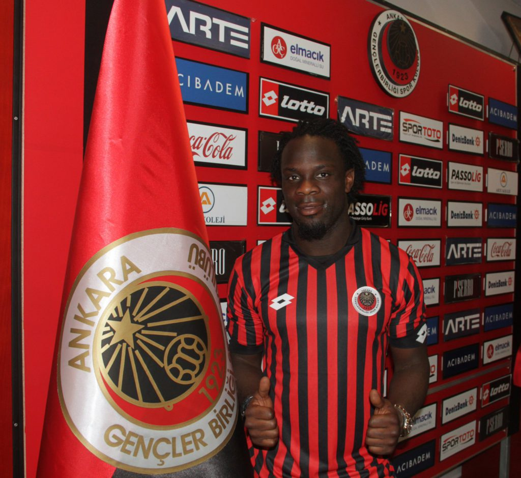 Ghanaian striker Elvis Manu insists Gençlerbirliği will come good in the Turkish league