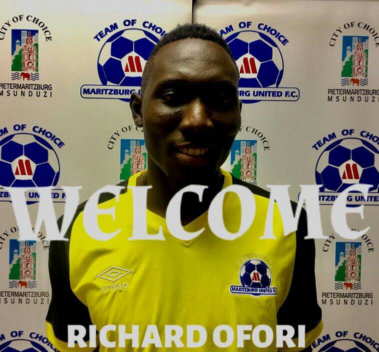 New recruit Richard Ofori reveals he's been following Maritzburg United since last year