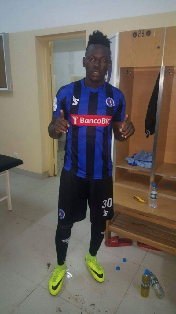 HISTORIC: Richard Arthur' strike is Inter Clubbe's first goal against Libolo in Girabola in five years
