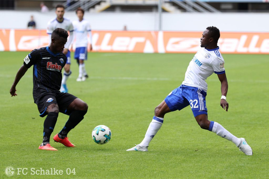 Ghana striker Bernard Tekpetey plays for German side in Schalke friendly win