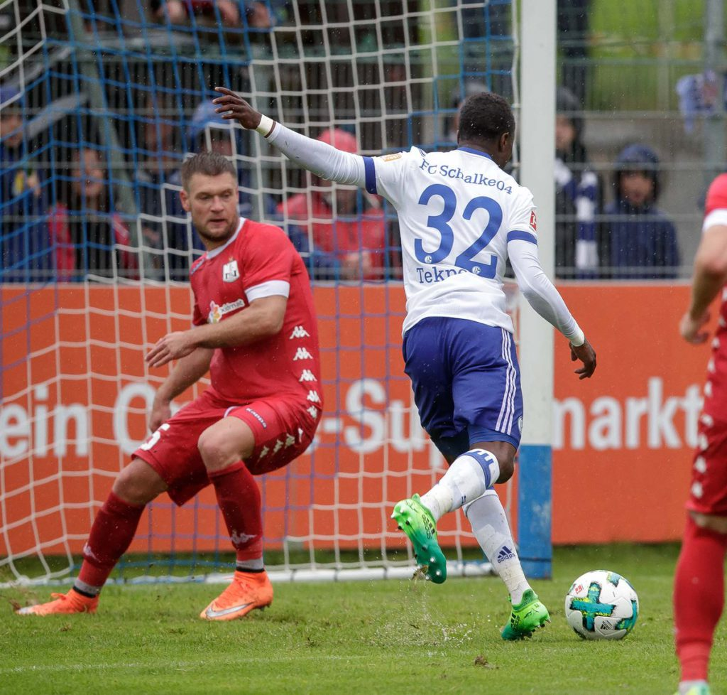 Bernard Tekpetey's lone strike gives Schalke pre-season friendly win over Neftci Baku