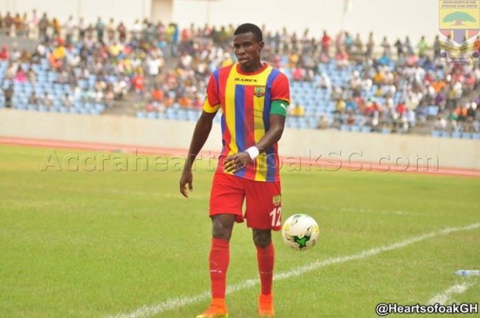 EXCLUSIVE: Hearts of Oak set to offer captain Thomas Abbey contract extension