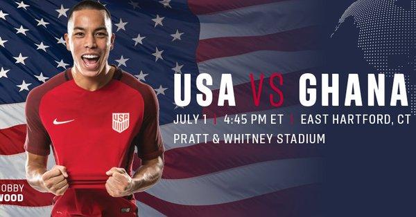 LIVE: International Friendly - USA 2-1 Ghana