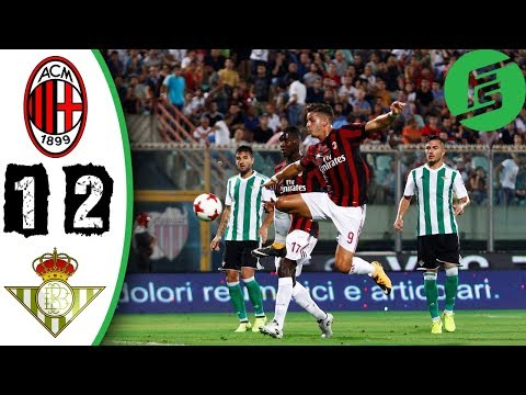 Ac Milan Vs Real Betis   Highlights Goals