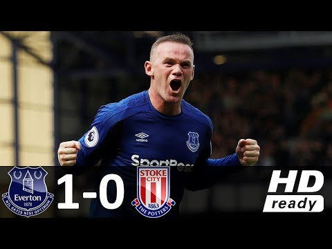 Everton vs Stoke City 1-0 - All Goals & Highlights - 12/08/2017 HD