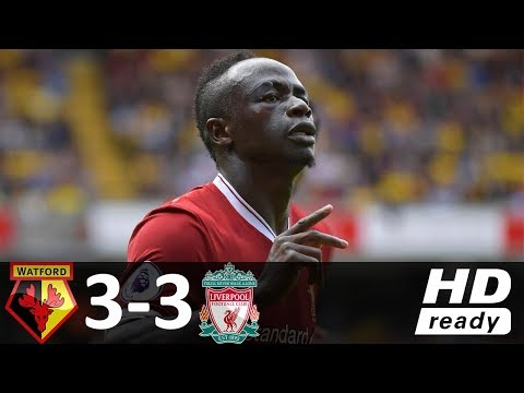 Watford vs Liverpool 3-3 - All Goals & Highlights - 12/08/2017 HD