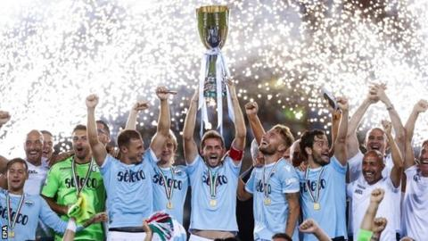 Ghana star Kwadwo Asamoah misses out on Italian Super Cup with Lazio beating Juventus in dramatic fashion