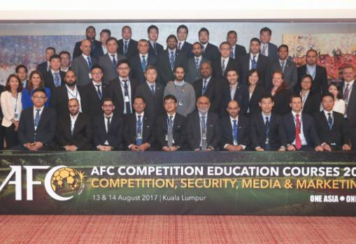Member Associations benefit from AFC Competition Education Courses