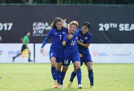 SEA Games 2017 Women's Football:  Thailand 3-2 Myanmar