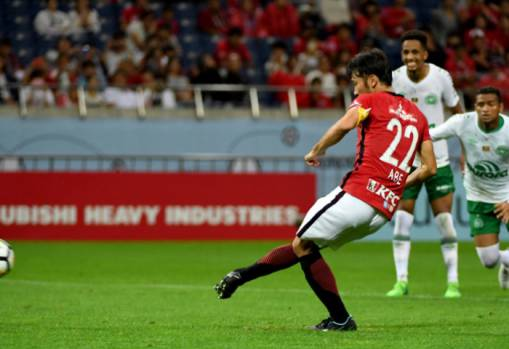 Abe's late penalty secure Urawa win over Chapecoense