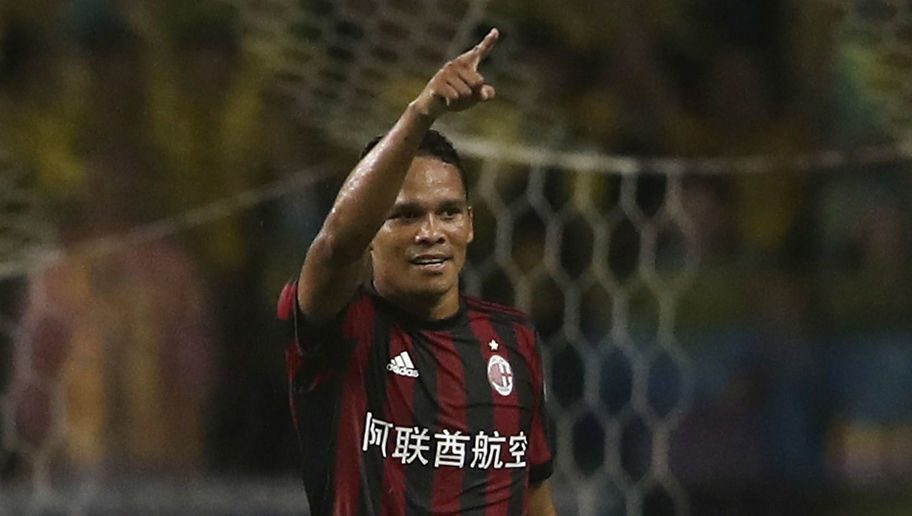 Villarreal Confirm Signing of Striker Carlos Bacca on Loan From AC Milan