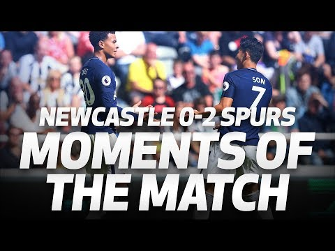 MOMENTS OF THE MATCH | Newcastle 0-2 Spurs