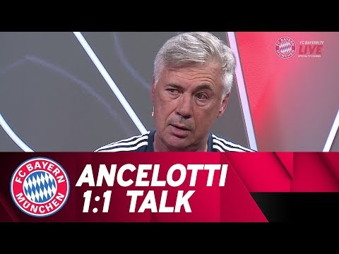 Carlo Ancelotti | Exclusive Interview (Teaser) | FC Bayern.tv live
